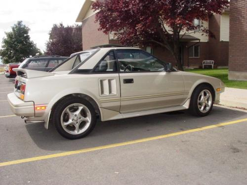 Photo Image Gallery & Touchup Paint: Toyota Mr2 in Beige Metallic   (4G8)  YEARS: 1987-1987