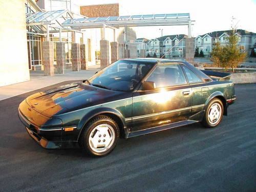 Photo Image Gallery & Touchup Paint: Toyota Mr2 in Dark Jade Metallic  (6H7)  YEARS: 1986-1986