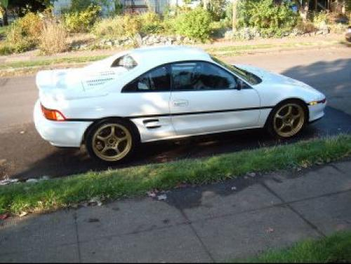 Photo Image Gallery & Touchup Paint: Toyota Mr2 in Super White   (043)  YEARS: 1991-1992