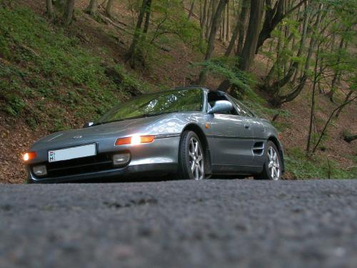 Photo Image Gallery & Touchup Paint: Toyota Mr2 in Steel Mist Gray  (187)  YEARS: 1991-1995