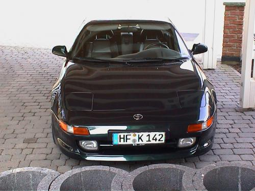 Photo Image Gallery & Touchup Paint: Toyota Mr2 in Dark Emerald Pearl  (6M1)  YEARS: 1994-1995