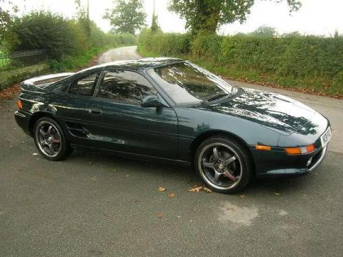 Photo Image Gallery & Touchup Paint: Toyota Mr2 in Aquamarine Pearl   (742)  YEARS: 1991-1992