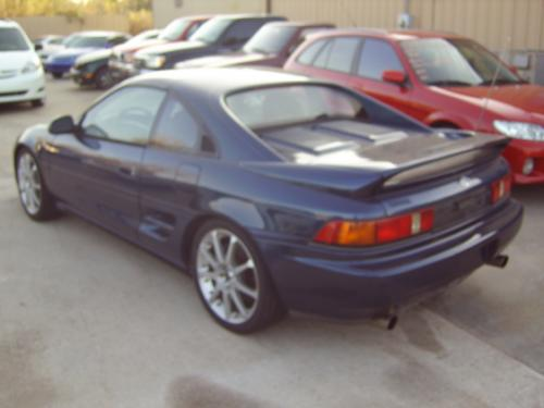 Photo Image Gallery & Touchup Paint: Toyota Mr2 in Nautical Blue Metallic  (8H3)  YEARS: 1991-1992