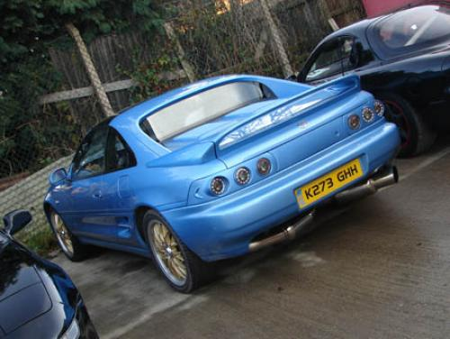 Photo Image Gallery & Touchup Paint: Toyota Mr2 in Blue Metallic   (8J2)  YEARS: 1993-1993