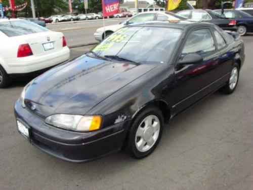 Photo Image Gallery & Touchup Paint: Toyota Paseo in Satin Black Metallic  (205)  YEARS: 1992-1995