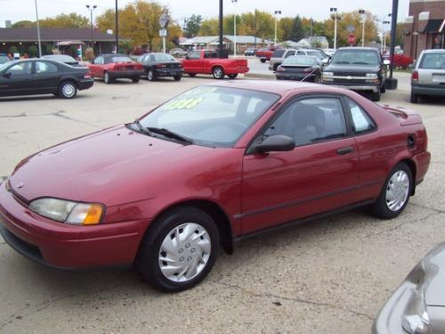 Photo Image Gallery & Touchup Paint: Toyota Paseo in Medium Red Pearl  (3H4)  YEARS: 1992-1992