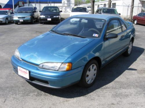 Photo Image Gallery & Touchup Paint: Toyota Paseo in Blue Metallic   (8J2)  YEARS: 1992-1993