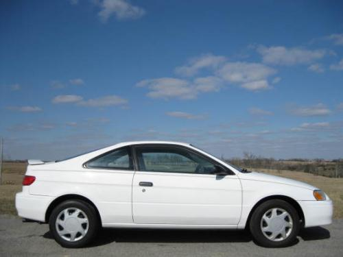 Photo Image Gallery & Touchup Paint: Toyota Paseo in Super White   (040)  YEARS: 1997-1997