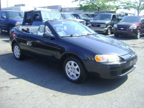 Photo Image Gallery & Touchup Paint: Toyota Paseo in Satin Black Metallic  (205)  YEARS: 1996-1997