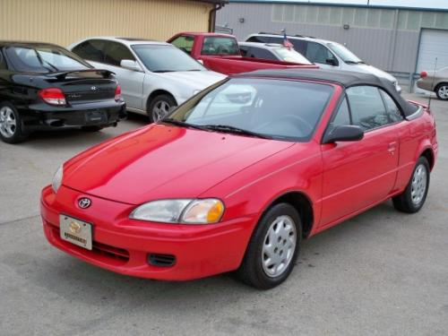 Photo Image Gallery & Touchup Paint: Toyota Paseo in Super Red   (3E5)  YEARS: 1996-1997