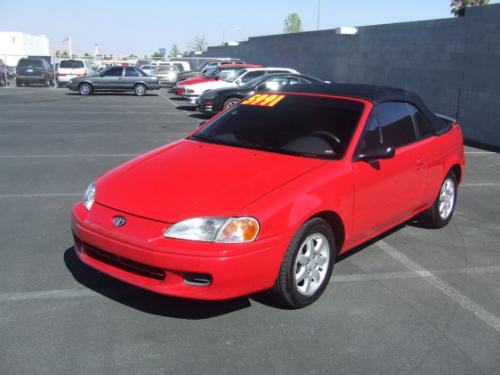 Photo Image Gallery & Touchup Paint: Toyota Paseo in Super Red   (3E5)  YEARS: 1997-1997