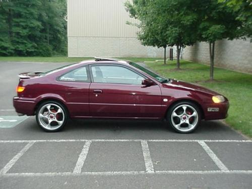 Photo Image Gallery & Touchup Paint: Toyota Paseo in Ruby Pearl   (3L3)  YEARS: 1996-1996