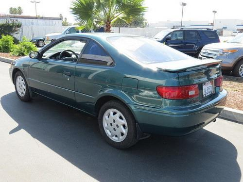 Photo Image Gallery & Touchup Paint: Toyota Paseo in Sierra Green Metallic  (6N7)  YEARS: 1996-1997