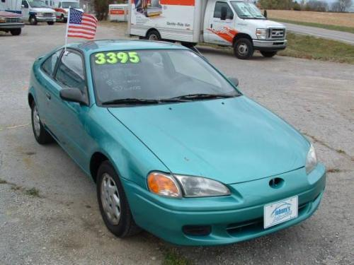 Photo Image Gallery & Touchup Paint: Toyota Paseo in Bright Turquoise Pearl  (756)  YEARS: 1996-1997