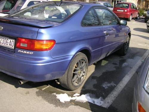 Photo Image Gallery & Touchup Paint: Toyota Paseo in Bright Iris Pearl  (8K9)  YEARS: 1996-1997