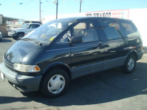 Photo Image Gallery & Touchup Paint: Toyota Previa in Graystone Pearl   (191)  YEARS: 1995-1997