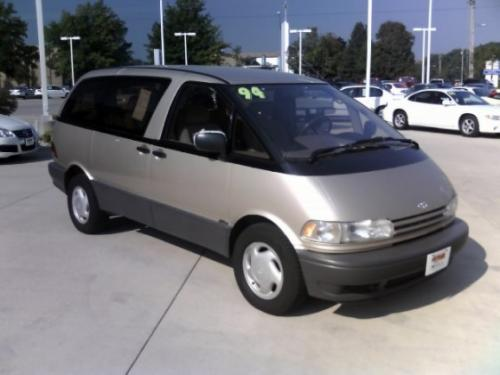 Photo Image Gallery & Touchup Paint: Toyota Previa in Opal Beige Pearl  (193)  YEARS: 1994-1997