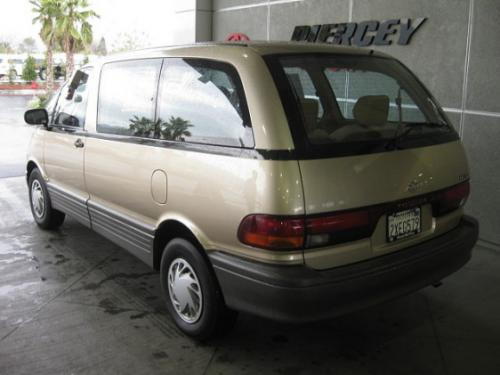 Photo Image Gallery & Touchup Paint: Toyota Previa in Sandstone Beige Metallic  (4K9)  YEARS: 1991-1997