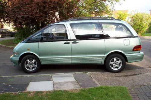 Photo Image Gallery & Touchup Paint: Toyota Previa in Glacier Green Metallic  (6P9)  YEARS: 1997-1997