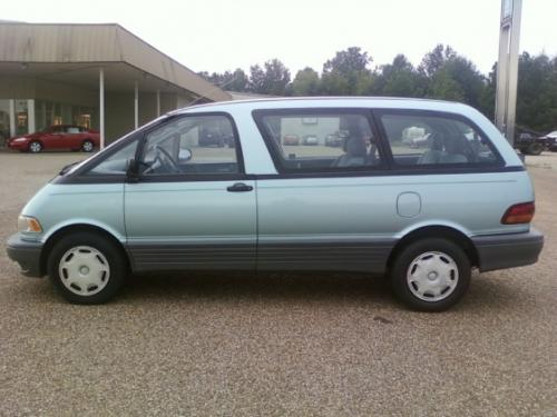 Photo Image Gallery & Touchup Paint: Toyota Previa in Turquoise Frost Pearl  (750)  YEARS: 1995-1996