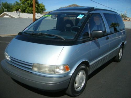 Photo Image Gallery & Touchup Paint: Toyota Previa in Ice Blue Pearl  (8G2)  YEARS: 1991-1993
