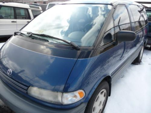 Photo Image Gallery & Touchup Paint: Toyota Previa in Nautical Blue Metallic  (8H3)  YEARS: 1991-1991