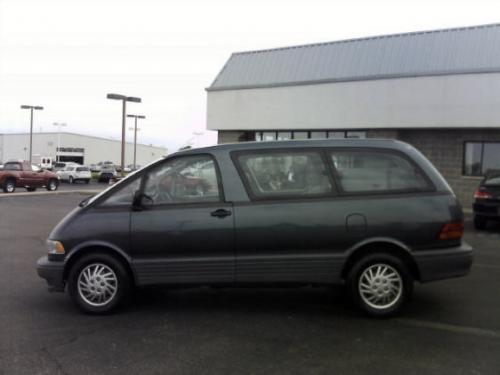 Photo Image Gallery & Touchup Paint: Toyota Previa in Twilight Marine Metallic  (8H4)  YEARS: 1992-1994