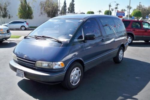 Photo Image Gallery & Touchup Paint: Toyota Previa in Cadet Blue Metallic  (8H5)  YEARS: 1991-1994
