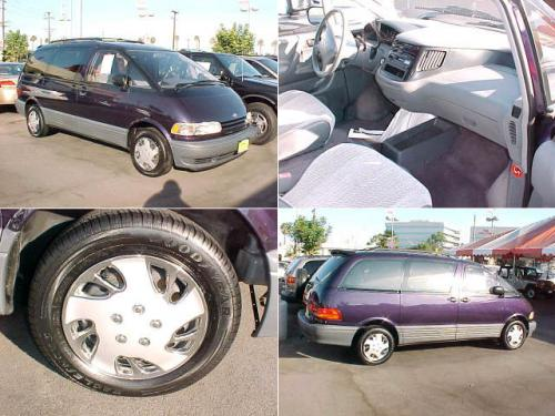 Photo Image Gallery & Touchup Paint: Toyota Previa in Deep Violet Pearl  (936)  YEARS: 1997-1997