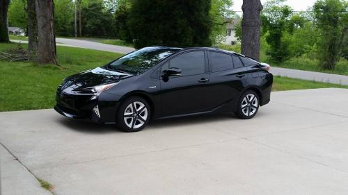 Photo Image Gallery Touchup Paint Toyota Prius In Midnight Black Metallic 218