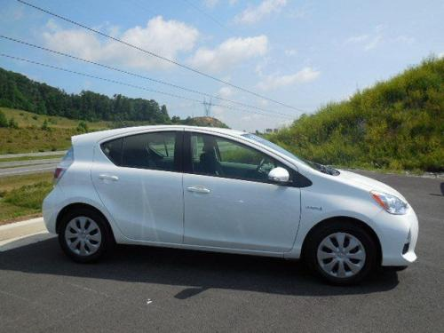 Photo Image Gallery & Touchup Paint: Toyota Priusc in Super White   (040)  YEARS: 2012-2017