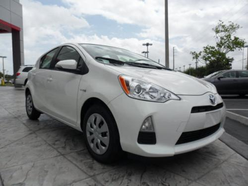 Photo Image Gallery & Touchup Paint: Toyota Priusc in Moonglow    (082)  YEARS: 2012-2017