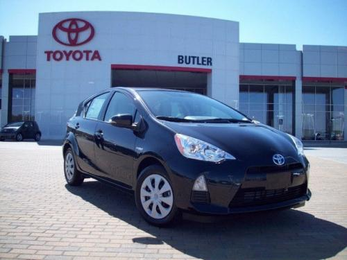 Photo Image Gallery & Touchup Paint: Toyota Priusc in Black Sand Pearl  (209)  YEARS: 2012-2017