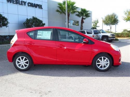 Photo Image Gallery & Touchup Paint: Toyota Priusc in Absolutely Red   (3P0)  YEARS: 2012-2017