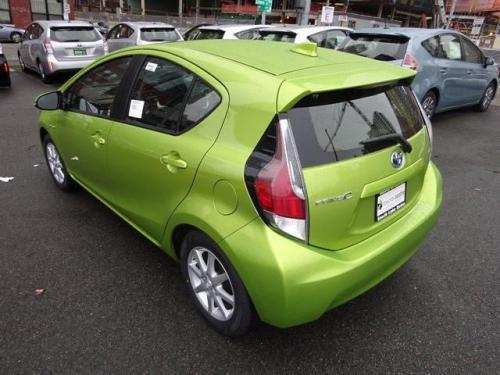 Photo Image Gallery & Touchup Paint: Toyota Priusc in Electric Lime Metallic  (588)  YEARS: 2015-2016