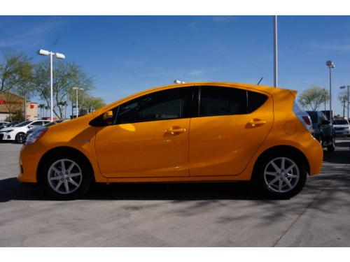 Photo Image Gallery & Touchup Paint: Toyota Priusc in Sun Fusion   (5A3)  YEARS: 2014-2016