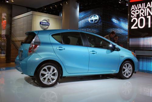 Photo Image Gallery & Touchup Paint: Toyota Priusc in Summer Rain Metallic  (774)  YEARS: 2012-2014