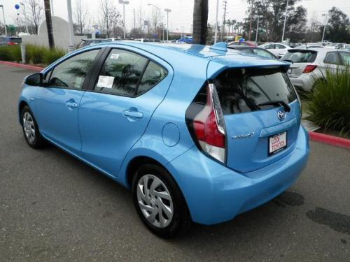 Photo Image Gallery & Touchup Paint: Toyota Priusc in Sparkling Sea Metallic  (8V7)  YEARS: 2015-2016