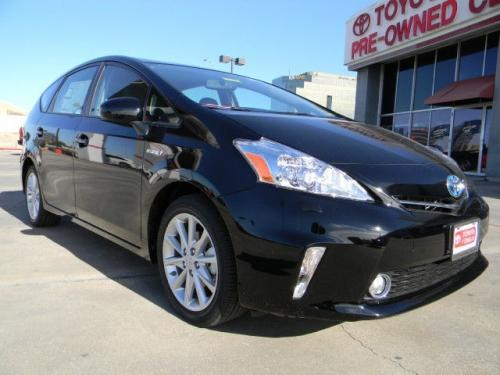 Photo Image Gallery & Touchup Paint: Toyota Priusv in Black    (202)  YEARS: 2012-2014