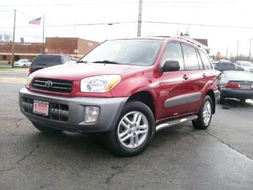 Photo Image Gallery & Touchup Paint: Toyota Rav4 in Impulse Red Pearl  (3P1)  YEARS: 2001-2003