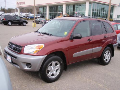 Photo Image Gallery & Touchup Paint: Toyota Rav4 in Salsa Red Pearl  (3Q3)  YEARS: 2004-2005