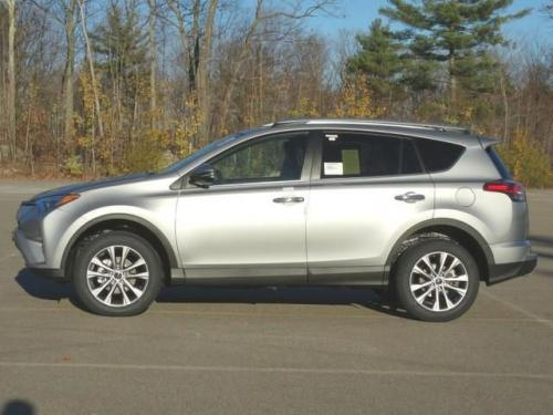 Photo Image Gallery & Touchup Paint: Toyota Rav4 in Silver Sky Metallic  (1D6)  YEARS: 2017-2017