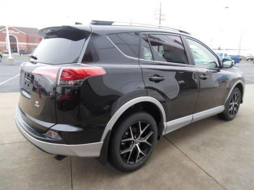 Photo Image Gallery & Touchup Paint: Toyota Rav4 in Blacksandpearl On Classicsilver  (209S)  YEARS: 2016-2016