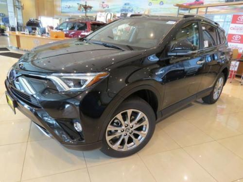 Photo Image Gallery & Touchup Paint: Toyota Rav4 in Black Sand Pearl  (209)  YEARS: 2016-2017