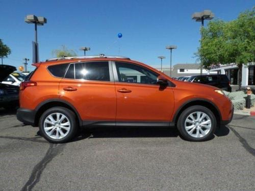 Photo Image Gallery & Touchup Paint: Toyota Rav4 in Hot Lava   (4R8)  YEARS: 2015-2016