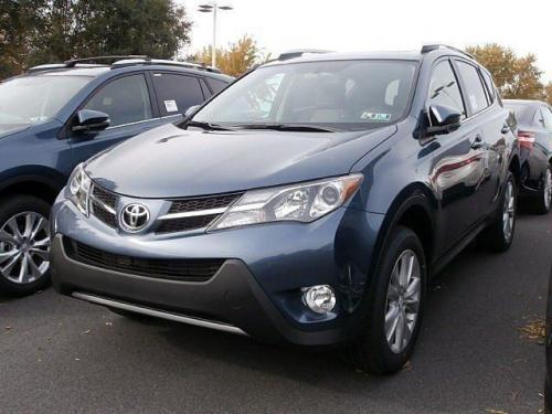 Photo Image Gallery & Touchup Paint: Toyota Rav4 in Shoreline Blue Pearl  (8V5)  YEARS: 2013-2014