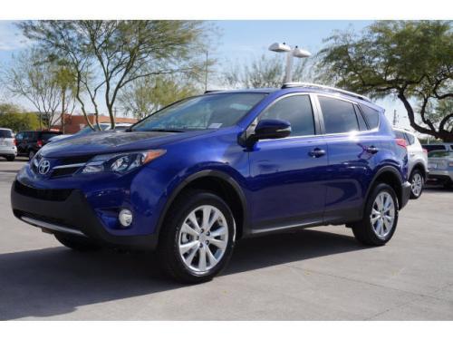 Photo Image Gallery & Touchup Paint: Toyota Rav4 in Blue Crush Metallic  (8W7)  YEARS: 2014-2015