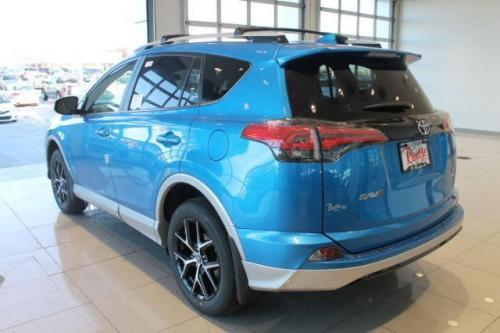 Photo Image Gallery & Touchup Paint: Toyota Rav4 in Electricstormblue On Classicsilver  (8X7S)  YEARS: 2016-2016