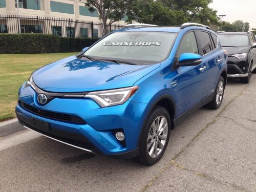 Photo Image Gallery & Touchup Paint: Toyota Rav4 in Electric Storm Blue  (8X7)  YEARS: 2016-2017