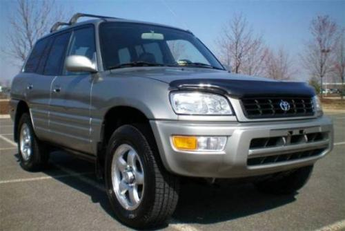 Photo Image Gallery & Touchup Paint: Toyota Rav4 in Quicksilver Fx   (1B9)  YEARS: 1999-2000